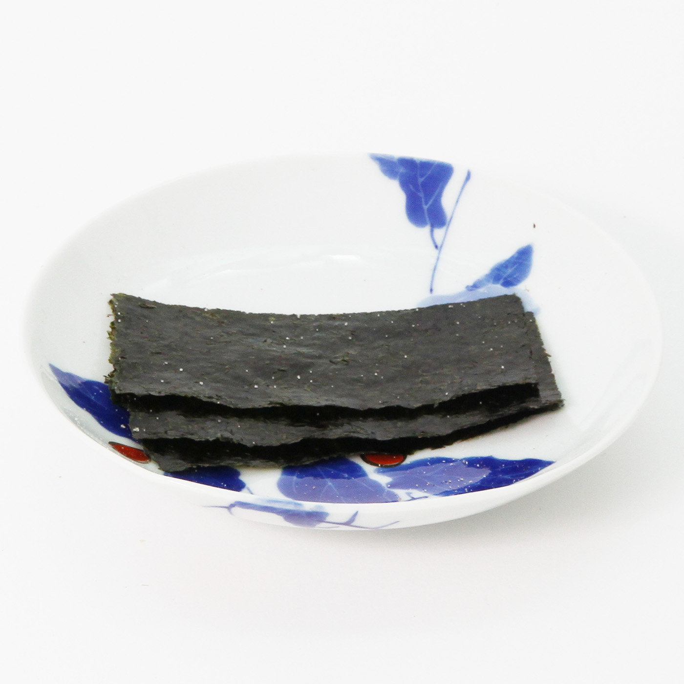皿にのせた相澤さんちの海苔