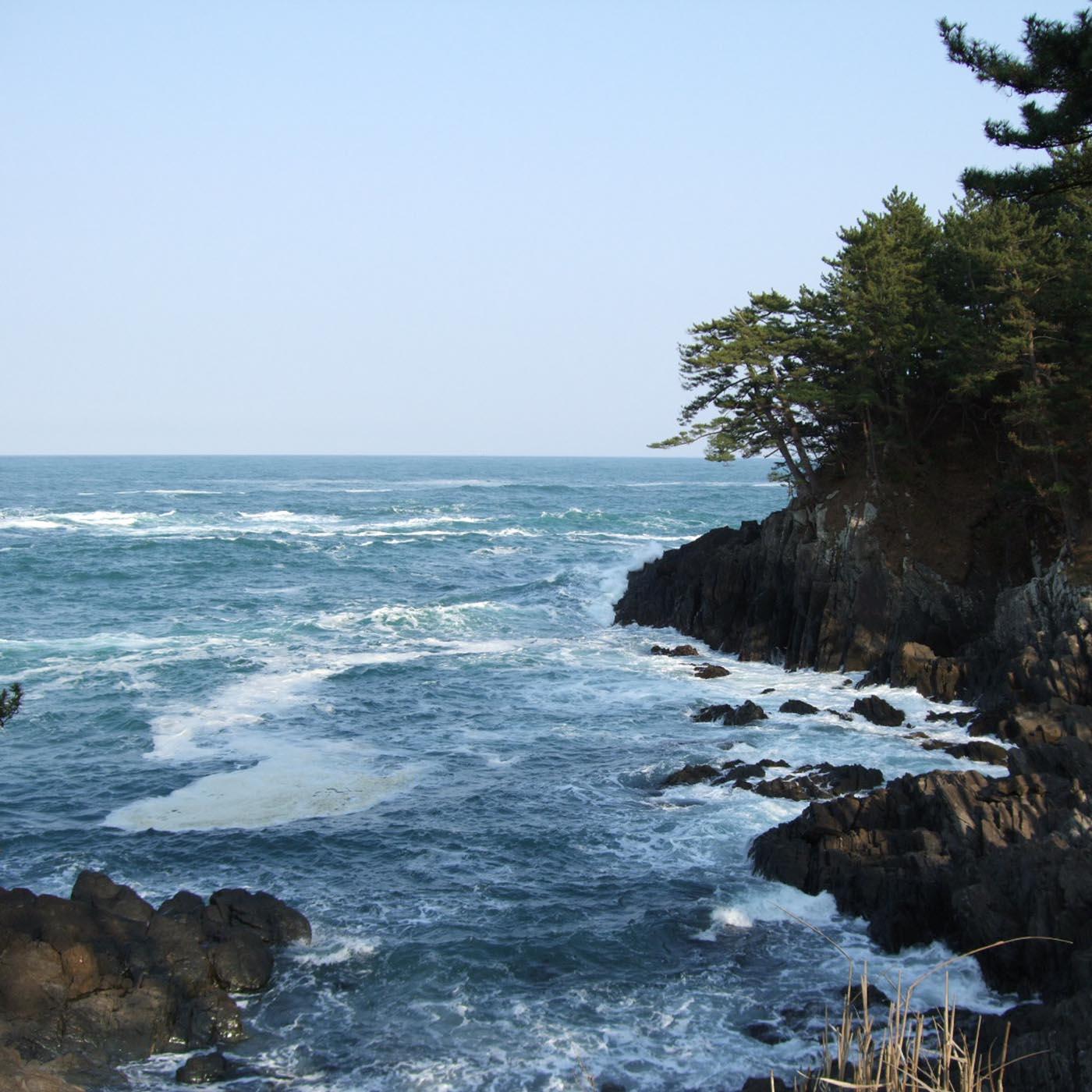 三陸のリアス式海岸